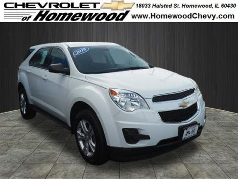 Certified Used Chevrolet Equinox LS