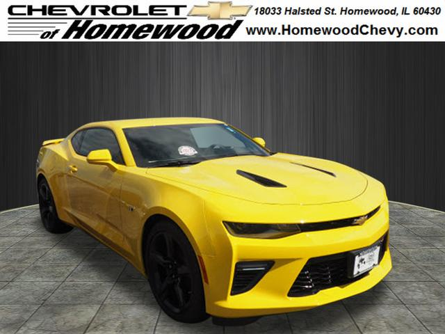 New 2018 Chevrolet Camaro SS SS 2dr Coupe w1SS near Chicago