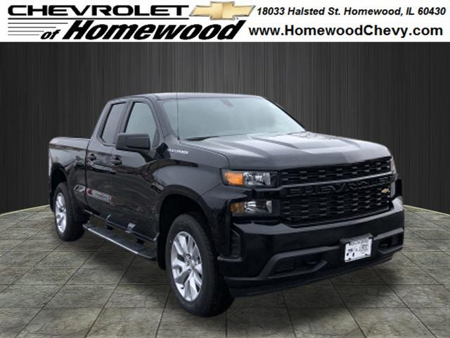 Custom Chevy Silverado >> New 2019 Chevrolet Silverado 1500 Custom 4x4 Custom 4dr Double Cab