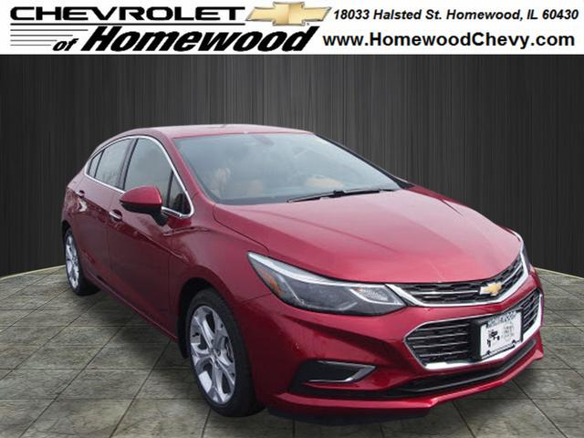 new 2017 chevrolet cruze premier auto premier auto 4dr hatchback near chicago heights 17937. Black Bedroom Furniture Sets. Home Design Ideas