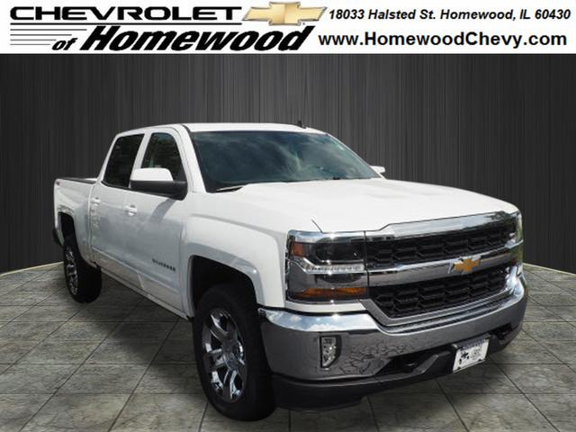new 2018 chevrolet silverado 1500 lt 4x4 lt 4dr crew cab 5 8 ft sb near chicago heights 18227. Black Bedroom Furniture Sets. Home Design Ideas