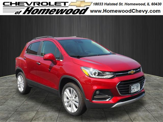 New 2020 Chevrolet Trax AWD 4DR PREMIER