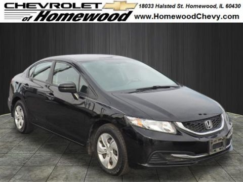 Pre-Owned 2015 Honda Civic LX
