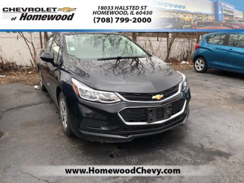 Certified Pre-Owned 2017 Chevrolet Cruze LS