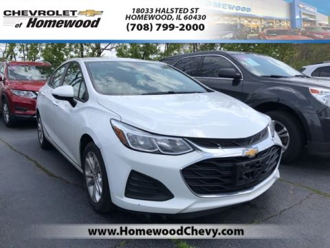 Certified Pre-Owned 2019 Chevrolet Cruze LS