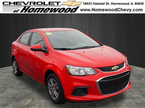 New 2018 Chevrolet Sonic LS Auto