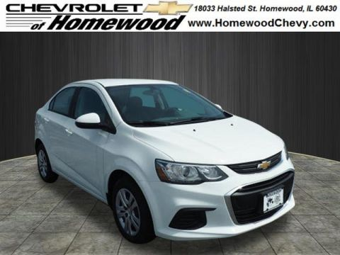 New 2017 Chevrolet Sonic LS Auto