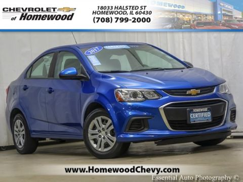 Certified Pre-Owned 2017 Chevrolet Sonic LS