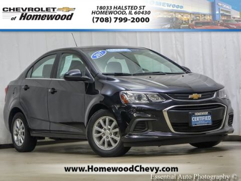 Certified Pre-Owned 2017 Chevrolet Sonic LT