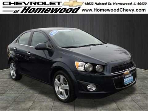 Certified Pre-Owned 2016 Chevrolet Sonic LTZ Auto