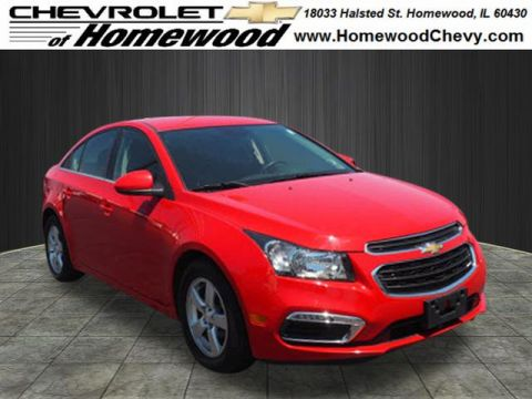 Certified Pre-Owned 2015 Chevrolet Cruze 1LT Auto