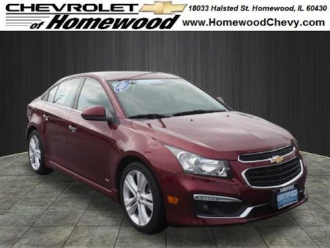 Certified Pre-Owned 2015 Chevrolet Cruze LTZ Auto