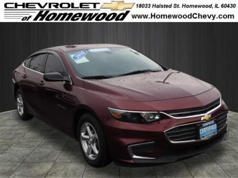 Certified Pre-Owned 2016 Chevrolet Malibu LS