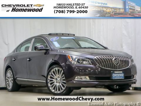 Certified Pre-Owned 2015 Buick LaCrosse Premium II Group