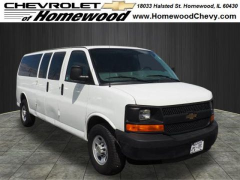 Pre-Owned 2014 Chevrolet Express Passenger LS 3500