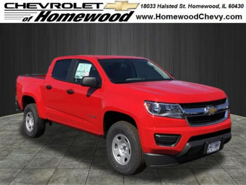 New 2019 Chevrolet Colorado 4WD CREW CAB 128.3 WORK