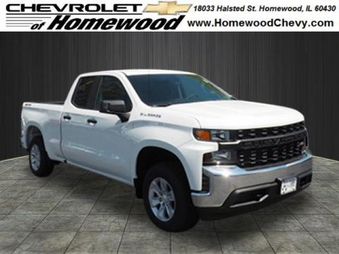 2019 Chevrolet Silverado 1500 4WD DOUBLE CAB 147  WORK
