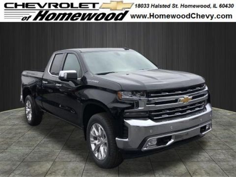 New 2019 Chevrolet Silverado 1500 4WD DOUBLE CAB 147 LTZ
