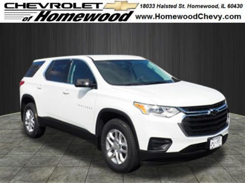 New 2019 Chevrolet Traverse 4DR FWD LS