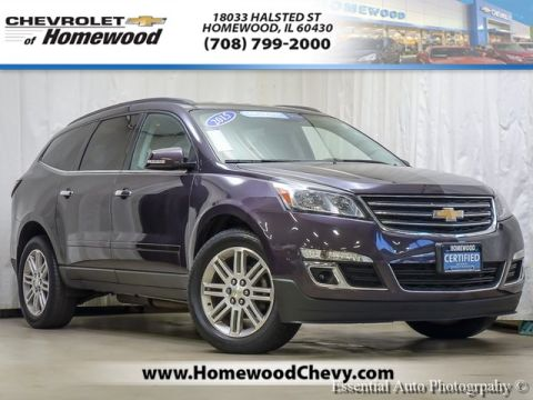 Certified Pre-Owned 2015 Chevrolet Traverse LT