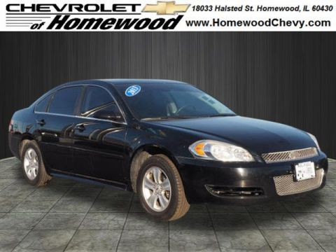 Pre-Owned 2013 Chevrolet Impala LS Fleet