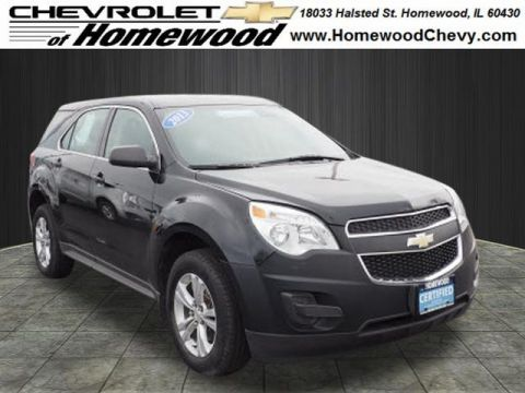 Certified Pre-Owned 2013 Chevrolet Equinox LS