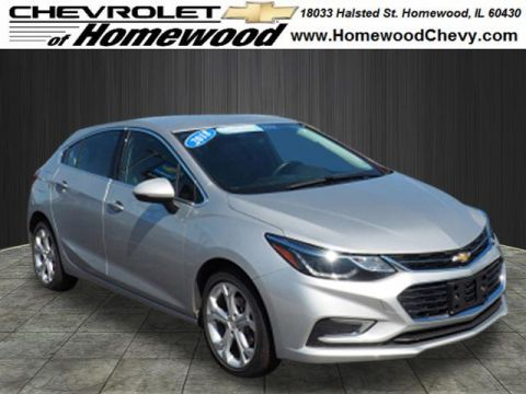 Certified Pre-Owned 2018 Chevrolet Cruze Premier Auto