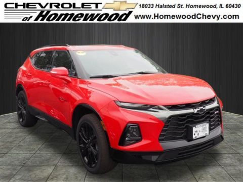 New 2019 Chevrolet Blazer FWD 4DR RS