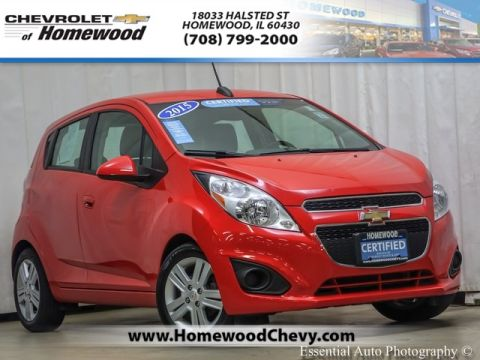 Certified Pre-Owned 2015 Chevrolet Spark 1LT